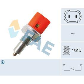Schalter, Rückfahrleuchte 40601 CLIO 2 (BB0/1/2, CB0/1/2) 1.5 dCi Bj 2012