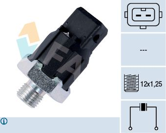 FAE  60188 Klopfsensor Pol-Anzahl: 2-polig