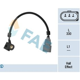Sensor, posición arbol de levas Número de polos: 3polos, Long. cable: 330mm con OEM número 03G 957 147 B