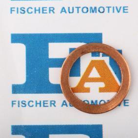 Anello di tenuta, vite di scarico olio Ø: 17mm, Spessore: 1,5mm, Diametro interno: 12mm con OEM Numero MD070717