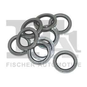 Seal, oil drain plug Ø: 24mm, Thickness: 1,5mm, Inner Diameter: 16,7mm with OEM Number 7700266044