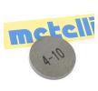 FIAT DUNA Adjusting Disc, valve clearance: METELLI 03-0033