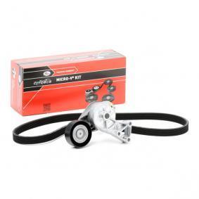 V-Ribbed Belt Set K026DPK1195 OCTAVIA (1U2) 1.9 TDI MY 2010