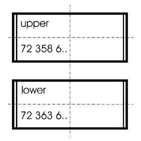 KOLBENSCHMIDT  77752620 Kit bronzine di biella Quantità: 8