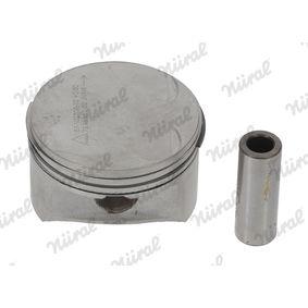 Kolben für OPEL CORSA C (F08, F68) 1.2 75 PS ab Baujahr 09.2000 NÜRAL Kolben (87-102700-10) für