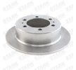 Brake disc kit SSANGYONG MUSSO (FJ) 2003 year 7880500 STARK Solid