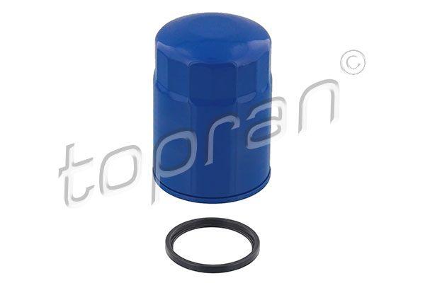 TOPRAN  820 107 Ölfilter Ø: 84mm, Höhe: 122mm