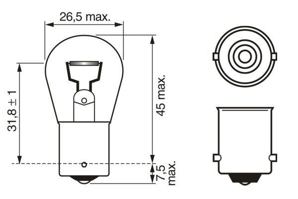 Article № 12V21WP21WECO BOSCH prices