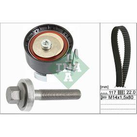 Zahnriemensatz Breite: 22,00mm mit OEM-Nummer 96MM-6K-288A1A