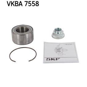 Juego de cojinete de rueda VKBA 7558 RIO 3 (UB) 1.4 CVVT ac 2013