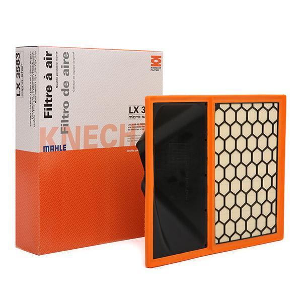 Filter LX 3583 MAHLE ORIGINAL 72350360 in Original Qualität