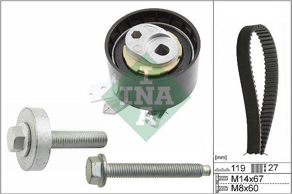 INA  530 0607 10 Timing Belt Set