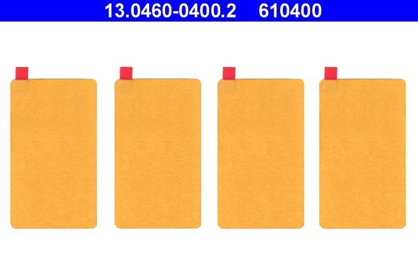 ATE  13.0460-0400.2 Zubehörsatz, Scheibenbremsbelag