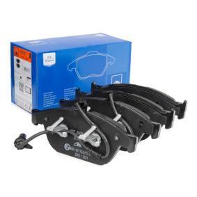 ATE  13.0460-7281.2 Bremsbelagsatz, Scheibenbremse Breite: 193,0mm, Höhe: 76,5mm, Dicke/Stärke: 20,3mm