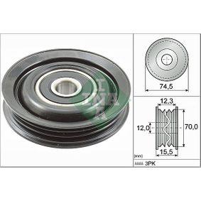 2007 Nissan Note E11 1.4 Deflection / Guide Pulley, v-ribbed belt 532 0786 10