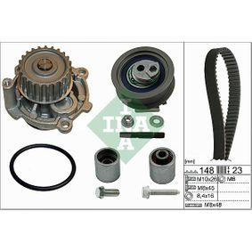 Water pump and timing belt kit with OEM Number 06D109 244 E
