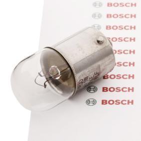 Bulb, licence plate light R5W, BA15s, 12V, 5W 1 987 302 815
