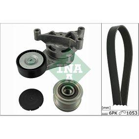 Passat B6 2.0FSI Keilrippenriemensatz INA 529 0023 10 (2.0 FSI Benzin 2006 CBFA)