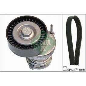 V-Ribbed Belt Set Number of ribs: 6 with OEM Number 03L 903 137G