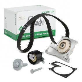 Water pump and timing belt kit with OEM Number 1680 600 Q2D