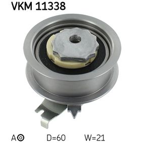 Polo 6R 1.6 Spannrolle, Zahnriemen SKF VKM 11338 (1.6 Benzin 2021 CWVB)