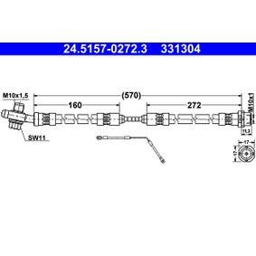 Bremsschlauch Art. Nr. 24.5157-0272.3 120,00€