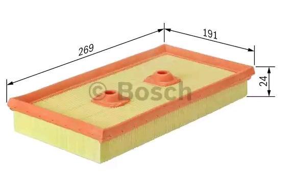 Air Filter BOSCH F 026 400 342 rating