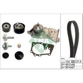 INA  530 0639 30 Wasserpumpe + Zahnriemensatz Breite: 27,40mm