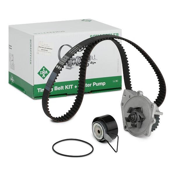 INA  530 0376 30 Water pump and timing belt kit