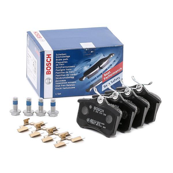 Jogo de pastilhas para travão de disco BOSCH E990R02A11801056 conhecimento especializado