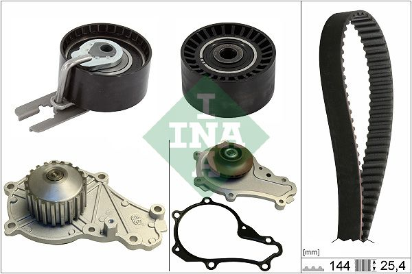INA  530 0615 30 Water pump and timing belt kit