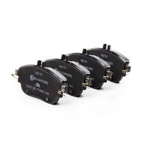 ATE  13.0460-2779.2 Bremsbelagsatz, Scheibenbremse Breite: 144,0mm, Höhe: 71,6mm, Dicke/Stärke: 19,3mm