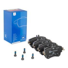 Bremsbelagsatz, Scheibenbremse Breite: 129,0mm, Höhe: 71,3mm, Dicke/Stärke: 19,3mm mit OEM-Nummer A008 420 0420