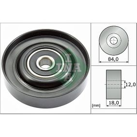 2008 Nissan Note E11 1.4 Deflection / Guide Pulley, v-ribbed belt 532 0785 10