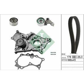 INA  530 0422 30 Water Pump & Timing Belt Set Width: 25,00mm