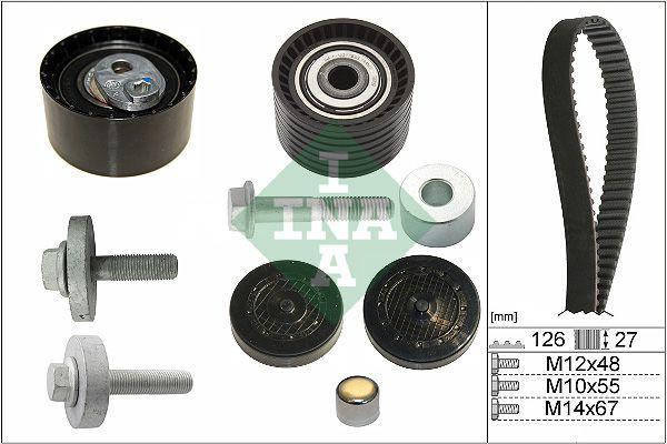 INA  530 0638 10 Timing Belt Set