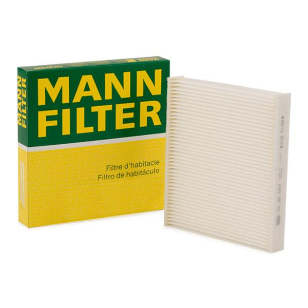 Filtro, aire habitáculo MANN-FILTER CU22023 conocimiento experto