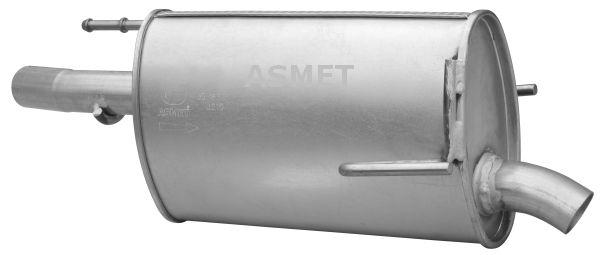 Image of ASMET Silenziatore posteriore 5907804595631
