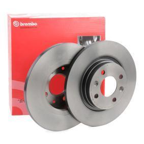 Bremsscheibe Bremsscheibendicke: 12mm, Lochanzahl: 4, Ø: 260mm mit OEM-Nummer 8200123117
