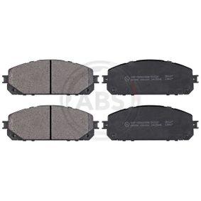 Bremsbelagsatz, Scheibenbremse Breite 1: 167mm, Höhe 1: 62mm, Dicke/Stärke 1: 17,5mm mit OEM-Nummer 68212 327AB