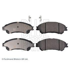 Bremsbelagsatz, Scheibenbremse Breite: 55,0mm, Dicke/Stärke 1: 15,8mm mit OEM-Nummer 55810 61M00
