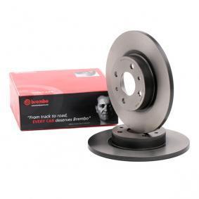 BREMBO спирачен диск (08.5086.11) за с ОЕМ-номер 51859075