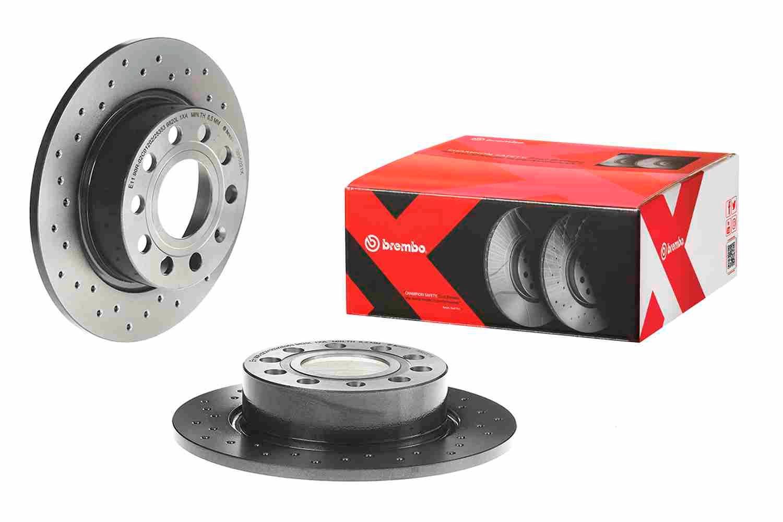 Brake Rotors BREMBO 08.9502.1X rating