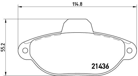 Artikelnummer D16198831 BREMBO Preise