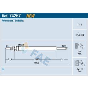 FAE  74267 Glow Plug