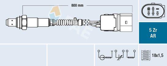 FAE  75353 Lambda Sensor