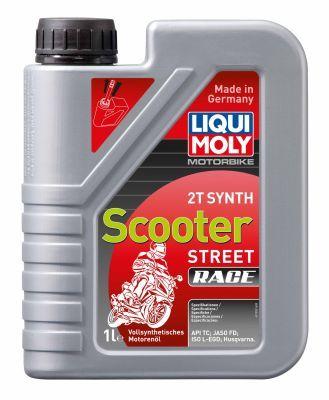 LIQUI MOLY Motorbike 2T, Synth Scooter Street Race 1053 Motoröl