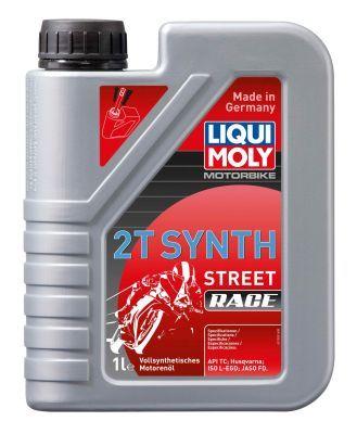 LIQUI MOLY Motorbike 2T Synth, Street Race 1505 Olio motore