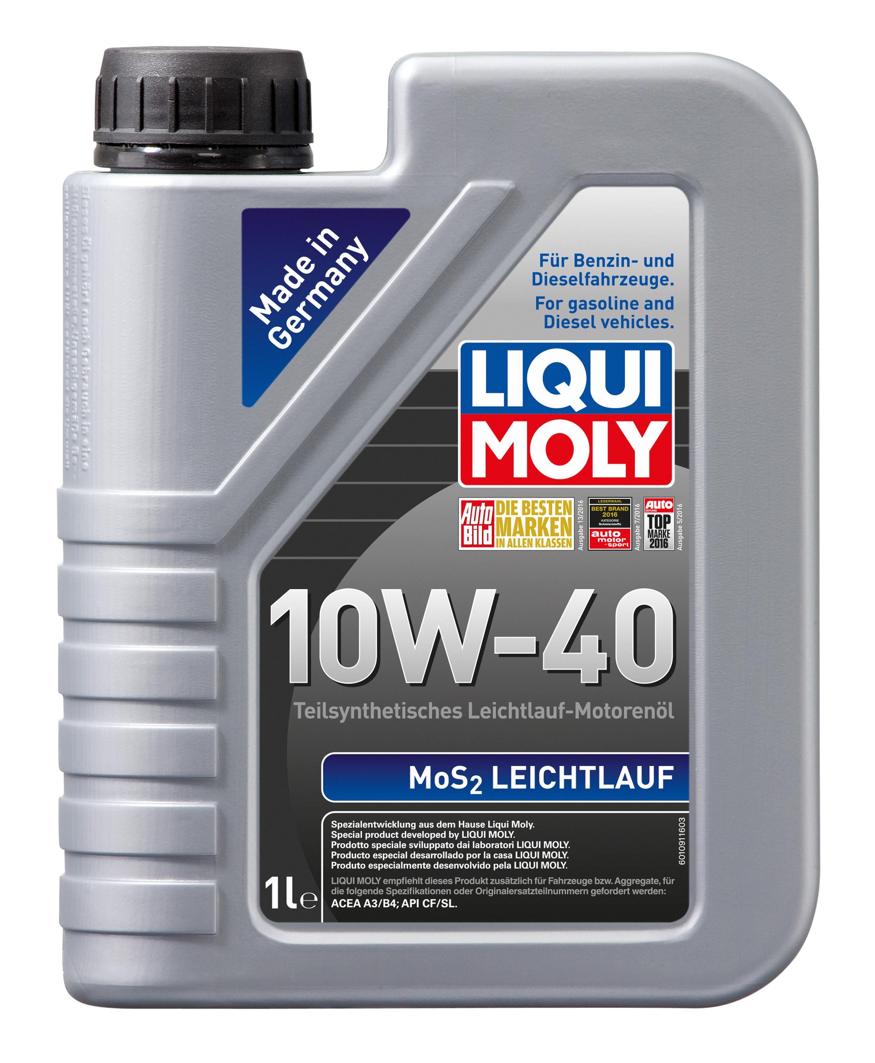 Aceite de motor LIQUI MOLY APISL 4100420026263