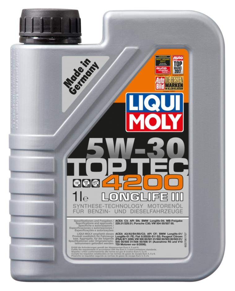 Aceite de motor LIQUI MOLY VW50301 4100420089725